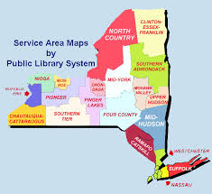 map of state of ny library service area maps library development new york