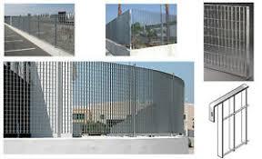 ringhiera metallica pannello grigliato rete metallica zincato ringhiera recinzione