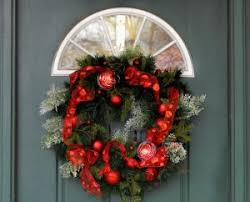 battery operated wreaths with timer access