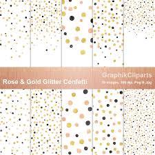 gold u0026 glitter confetti png jpg patterns creative market
