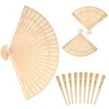 sandalwood fan dxhycc sandalwood fan set of 48 pcs baby shower