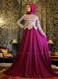 gaun muslim 25 model baju muslim untuk pesta terbaru 2018