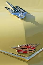 1956 cadillac sedan ornament photograph by reger