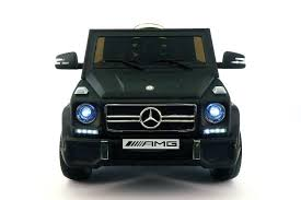 mercedes g class matte black mercedes benz g65 amg 12v battery powered ride on toy car with mp3
