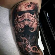 star wars rebel tattoo old coffin with cross and stars