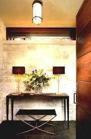 luxury entrance interior at apartment with unique interior design meble