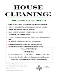 house cleaning flyer template we love cleaning house cleaning