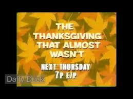 network the thanksgiving that almost wasn t promo