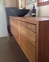 Timber Bathroom Vanity Custom Timber Bathroom Vanity Retrograde Furniture