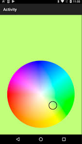 color selection android code snippet color picker b4x community android ios