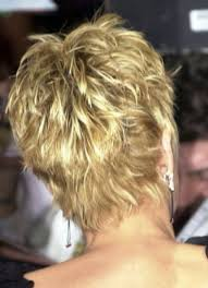 short hairstyles for women showing front and back views sharon stone short shag from the back sharon stone showing