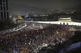 south korean president aided extortion scheme prosecutors wsj