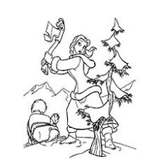 Top 35 Free Printable Christmas Tree Coloring Pages Online Cut Coloring Pages