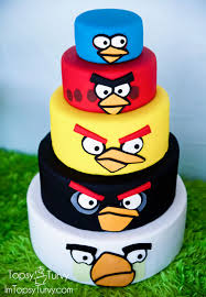angry birds birthday cake ashlee marie