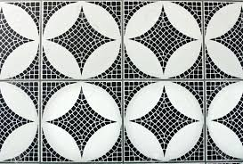 black and white mosaic floor tiles tile floor designs and ideas