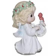 angel cardinal precious moments figurine 131026