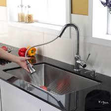 Discontinued Kitchen Faucets Stainless Steel Kitchen Sink Combination Kraususa Com