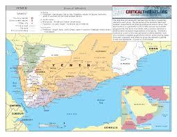 where is yemen on the map al qaeda map in yemen yemen sana039a mappery