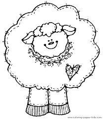 cute sheep color
