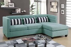 velvet cloth reversible chaise sectional sofa
