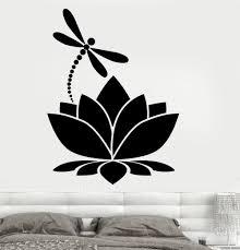 Lotus Flower Wall Decal Om by Online Get Cheap Yoga Studio Meditate Decor Wall Sticker