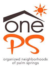 one organization organized neighborhoods of palm springs city of palm springs