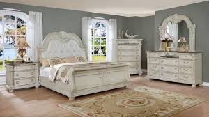Sleigh Bed Set Stanley White King Sleigh Bedroom Set My Furniture Place