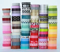 20 wooden spools japanese washi tape choose the colors or grab