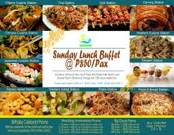 cuisine en promo vista mar resort and country website cebu hotel