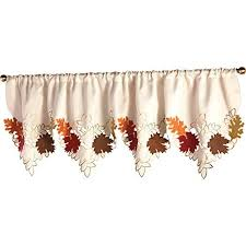 Fall Kitchen Curtains Kitchen Curtains And Valances