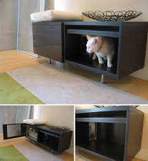 modern litter box cabinet modern cat litter box cabinet