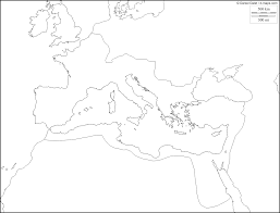 blank map of ancient greece coloring map of ancient rome ancient history