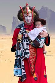 Queen Amidala Halloween Costume Mommycon 24 Babywearing Halloween Costume Ideas