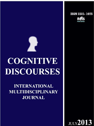 cognitive discourses international multidisciplinary journal vol 1