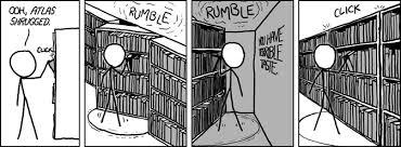 Atlas Shrugged Meme - bookshelf meme by elf101 memedroid