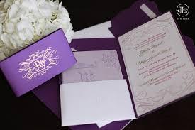 Wedding Invitations Purple Luxury Purple Invitations U2014 Lela New York Luxury Wedding Invitations