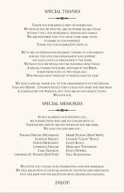 Make Wedding Programs Wedding Program Wording Wedding Programs Wedding Program Wording