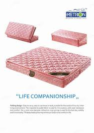 Folding Mattress Bed Exclusive Foldable Mattress Metron