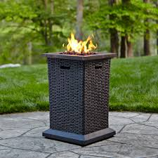 Northwest Territory Fire Pit - grand resort wicker look fire column limited availability