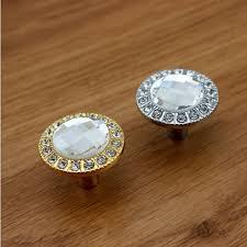 Crystal Kitchen Cabinet Knobs by Online Get Cheap Rhinestone Drawer Pulls Aliexpress Com Alibaba