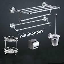 Silver Bathroom Accessories Sets by Chrome Bathroom Accessories Set Promotion Shop For Promotional