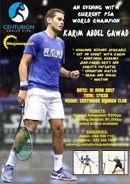 Match Ticket Racket Centurion Squash Club Website For Fellow Squash Players