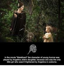 Maleficent Meme - in the movie maleficent the character of young aurora was played