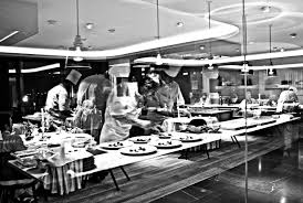 Kitchen Photography by Fine Restaurant Kitchen Photography Blurred Dramatic Of A Motion