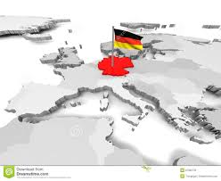 Germany On Map by Germany An Map Of Europe Royalty Free Stock Photo Image 27950735