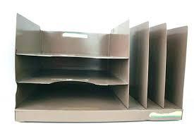 Desk Filing Organizer Tabletop Mesh File Organizer Silver In File Storage Boxes File