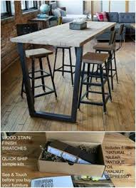 Counter Height Conference Table Urban Wood Goods Dining Tables Made To Fit In Your Space