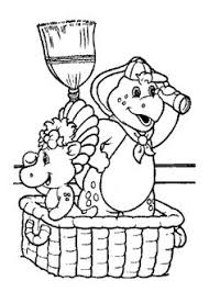 happy birthday barney printable coloring printable coloring