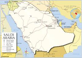 Longitude Map Map Of Saudi Arabia Saudi Arabia Map Saudi Arabia Map In English