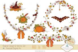 new release boo to you halloween clip art set amistyle